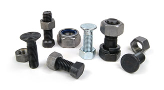 Example of Agricultura lscrews and  bolts made by BVS